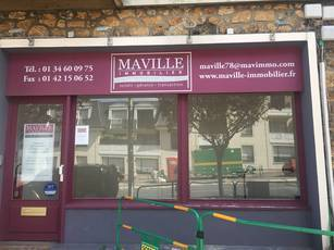 Location ou cession local commercial 23 m² Saint-Cyr-L'ecole (78210) - 750 €