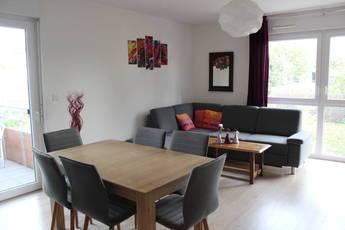 Location meublée appartement 3pièces 69m² Weyersheim (67720) - 850€