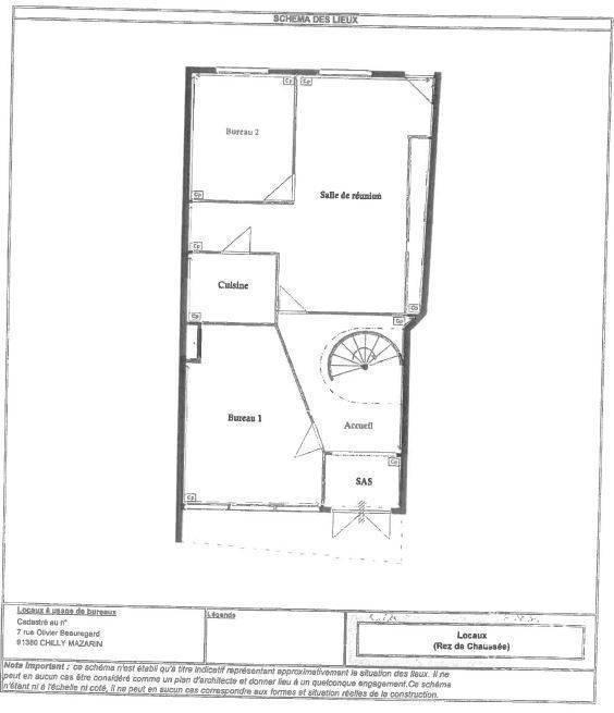 Location Bureaux et locaux professionnels Immeuble Chilly-Mazarin (91380)