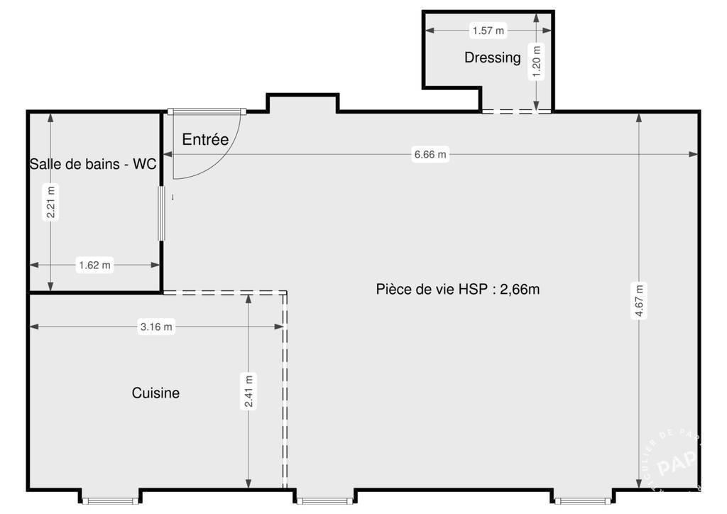 Appartement 32m²