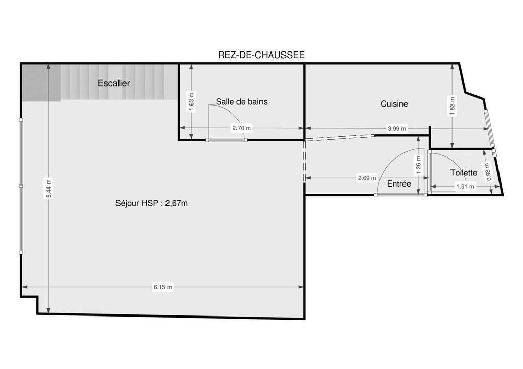 Vente Appartement Paris 15E 67m² 790.000€