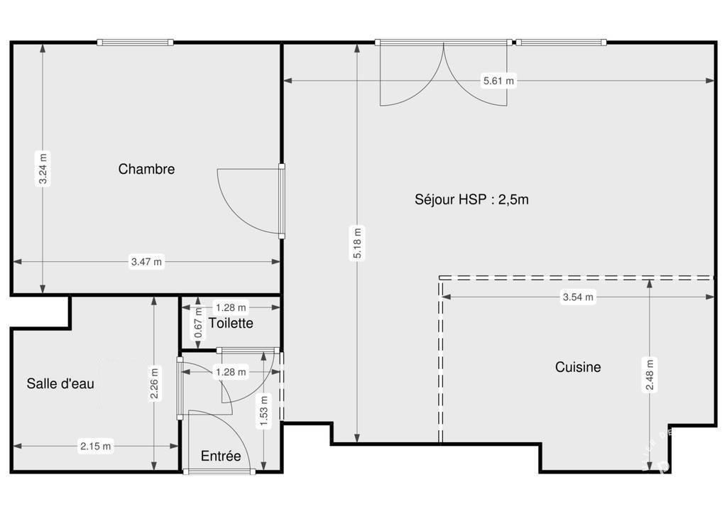 Vente Appartement Septemes-Les-Vallons (13240) 46m² 168.000€
