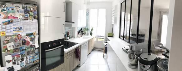 Vente appartement 3pièces 59m² Asnieres-Sur-Seine (92600) - 430.000€
