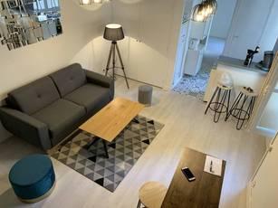 Location meublée appartement 2pièces 38m² Blois (41000) - 500€