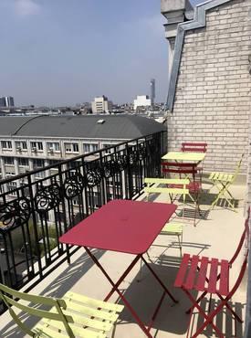 Location meublée appartement 2pièces 48m² Paris 12E - 1.650€