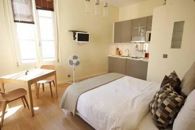 Location meublée studio 23m² Paris 4E - 1.200€