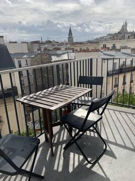 Location meublée appartement 2pièces 45m² Paris 18E - 1.350€