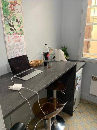 Location studio 26 m² Paris 18E - 890 €
