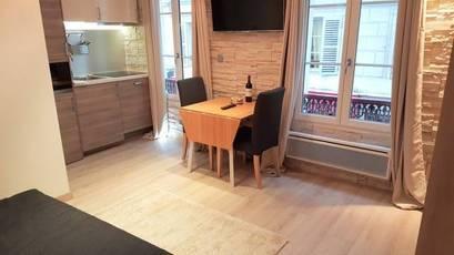 Location meublée studio 17m² Paris 3E - 980€