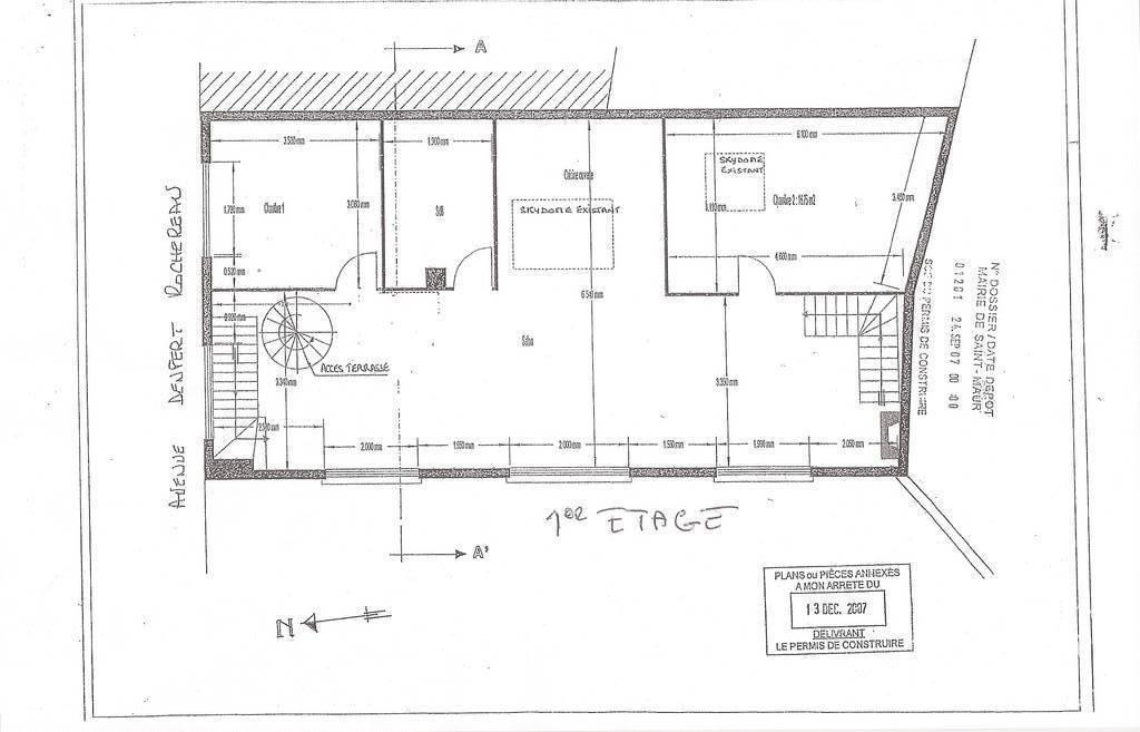 Bureaux, local professionnel 775.000€ 170m² La Varenne St Hilaire (94210)