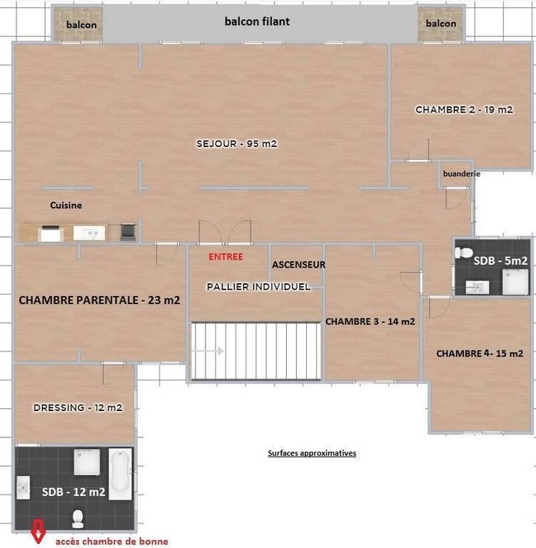 Location Meublee Appartement 8 Pieces 190 M Paris 17e 190
