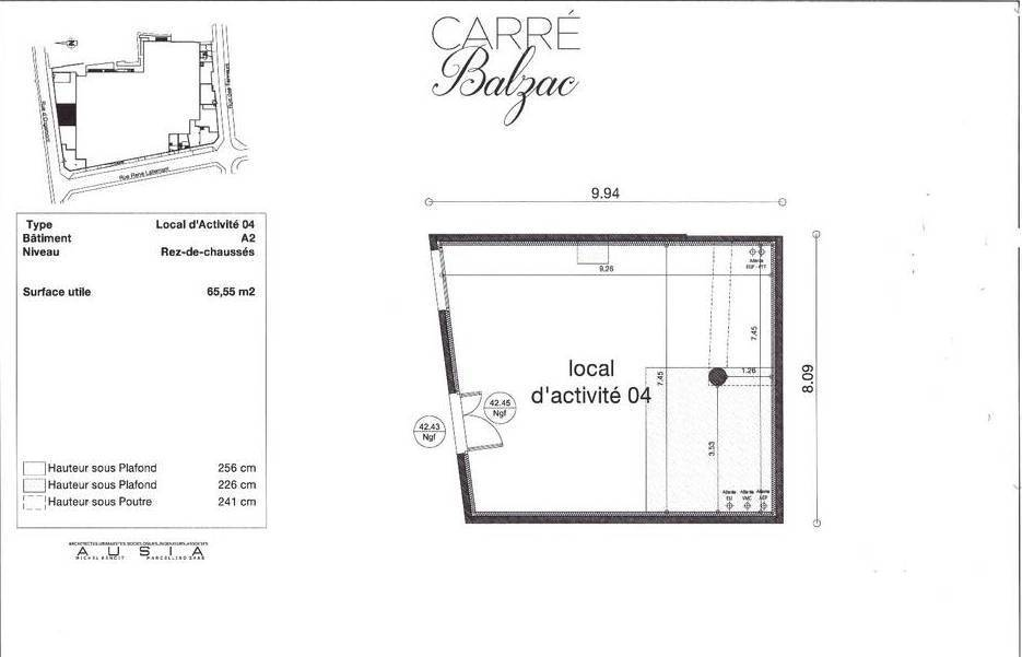 Location Local commercial Lagny-Sur-Marne (77400) 65 m² 1.800 €