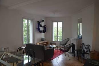 Location meublée appartement 4pièces 80m² Paris 14E - 2.750€