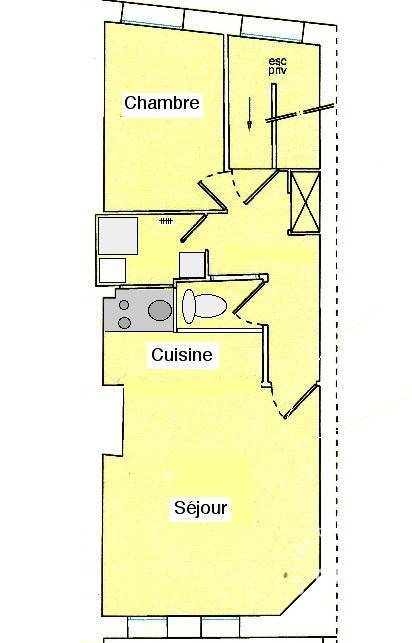 Appartement Rouen (76) 650€