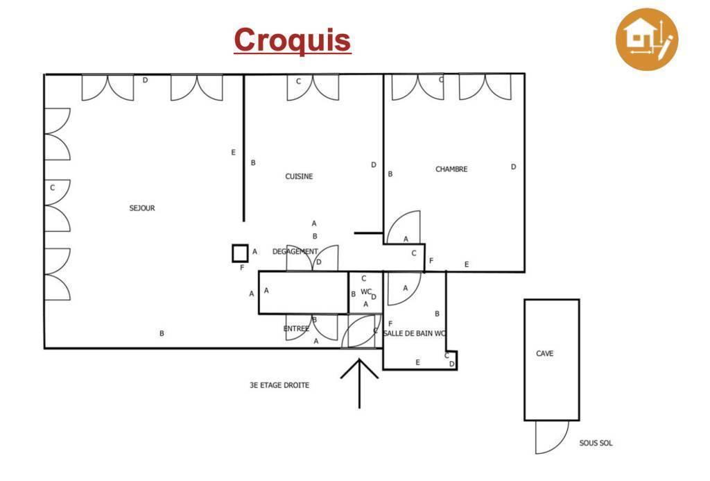 Appartement 88m²