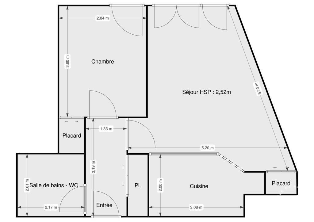 Vente Appartement Maisons-Alfort (94700) 45m² 335.000€