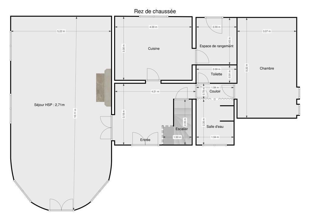 Vente Maison Vieilles-Maisons-Sur-Joudry (45260) 140m² 220.000€