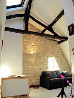 Location meublée appartement 2pièces 43m² Paris 18E - 1.430€
