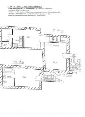Location appartement 2pièces 65m² Lambesc (13410) - 680€