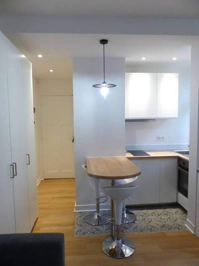 Location meublée studio 18m² Boulogne-Billancourt (92100) - 880€