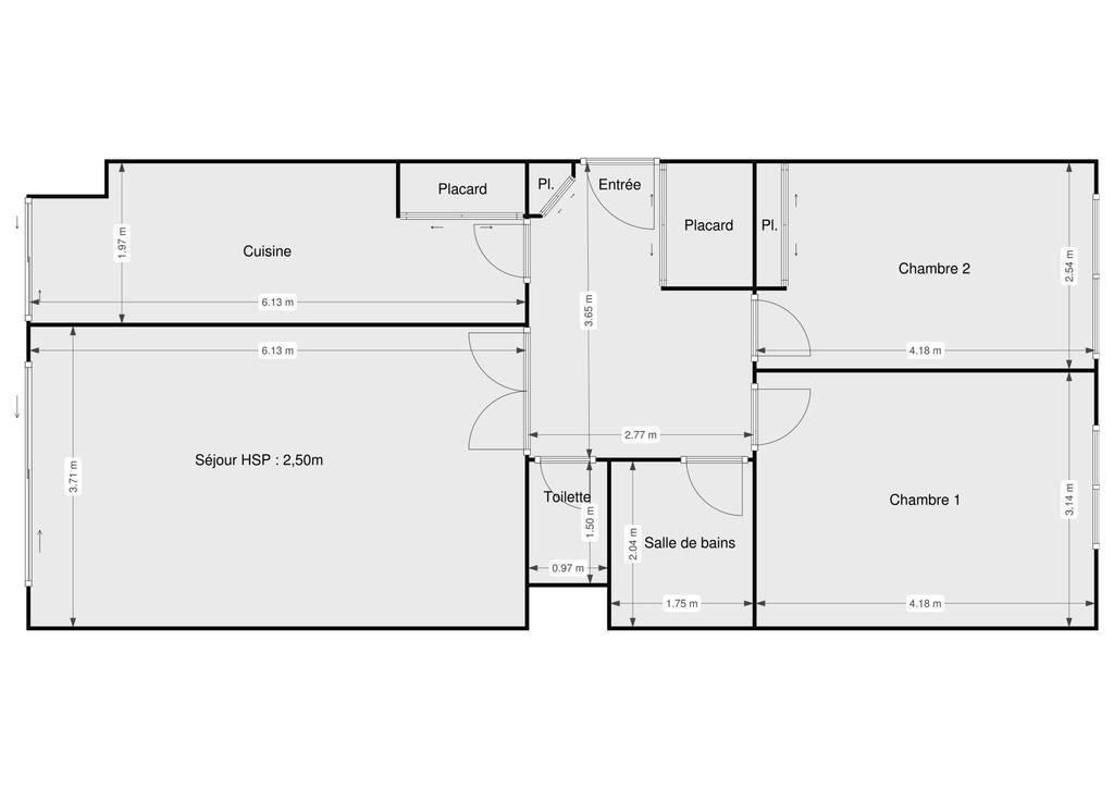Vente Appartement Paris 11E 69m² 650.000€