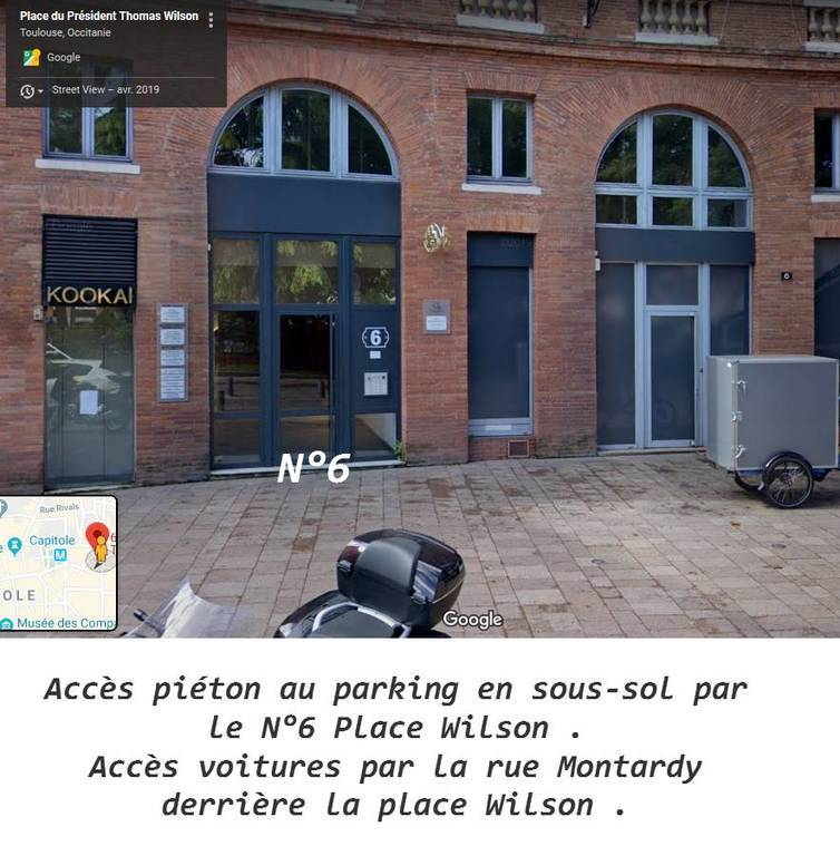 Vente Garage, parking Toulouse (31) (31000)  48.000 €