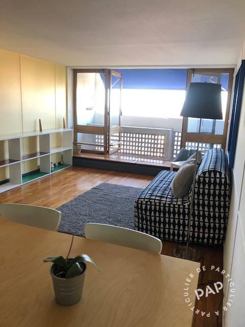 Location Appartement Vue Mer - Le Corbusier - Cité Radieuse - 38m² 750€