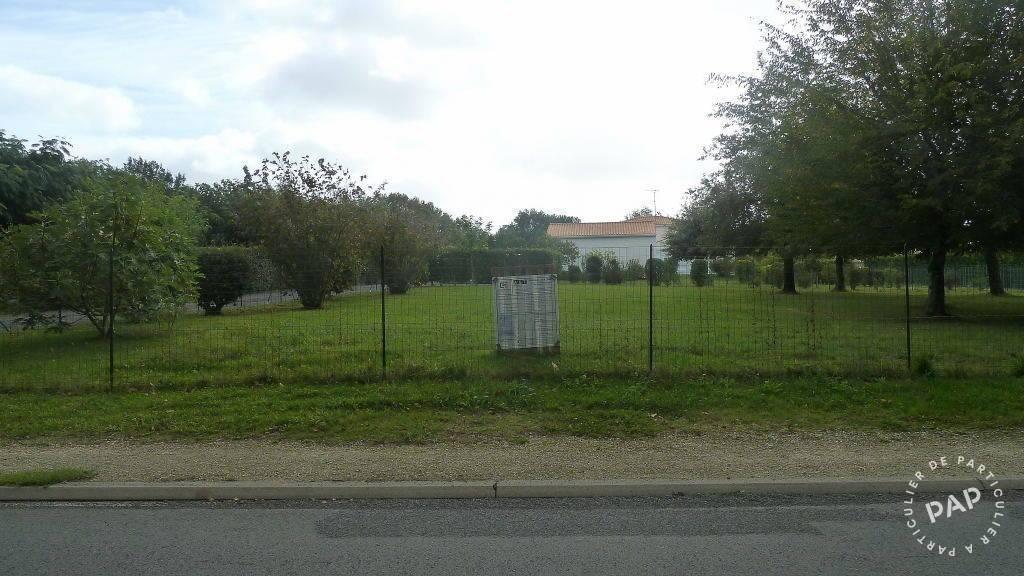 Vente Terrain Fontcouverte (17100)  86.000€