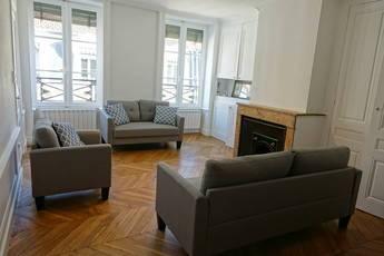 Location meublée appartement 4pièces 87m² Lyon 2E (69002) - 1.800€