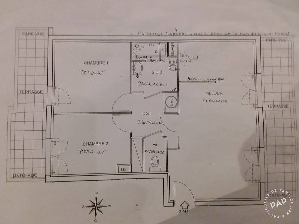 Immobilier Chelles 239.000€ 60m²