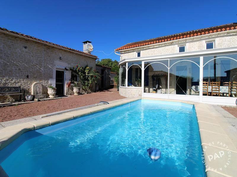 Vente Maison Aussac-Vadalle (16560) 220m² 245.000€