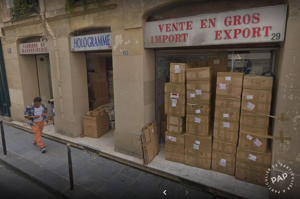 Vente Local commercial Paris 3E (75003) 150m² 200.000€