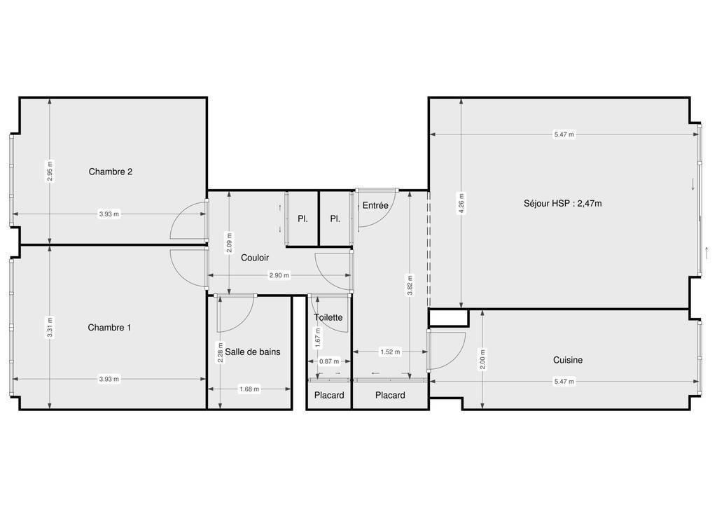 Vente Appartement Paris 14E (75014) 70m² 655.000€