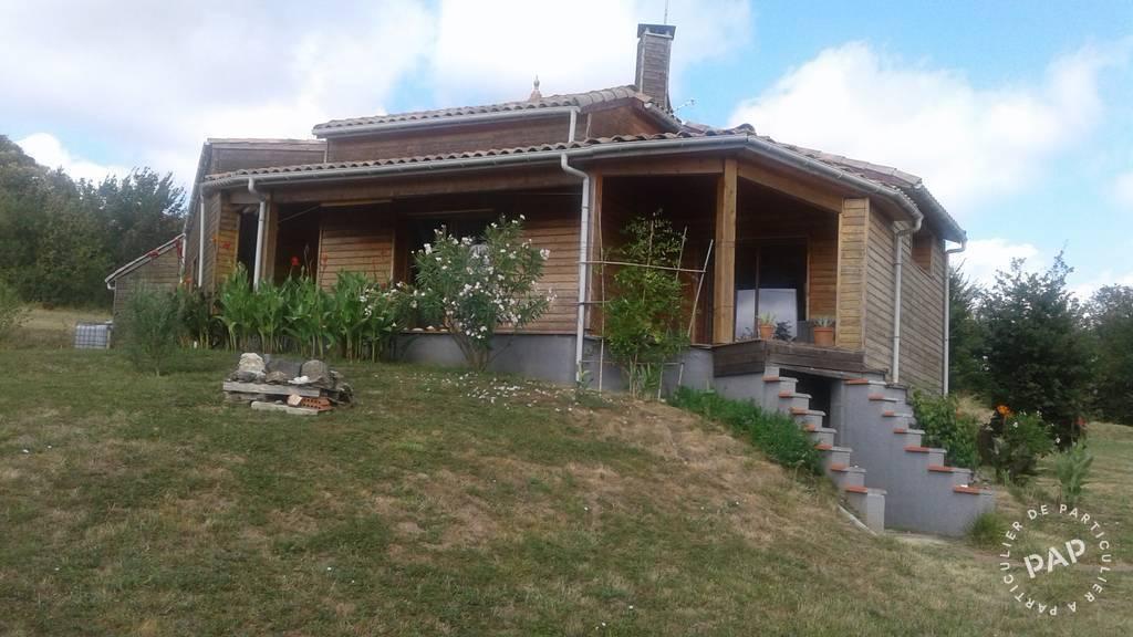 Vente maison 5 pièces Gensac (82120)