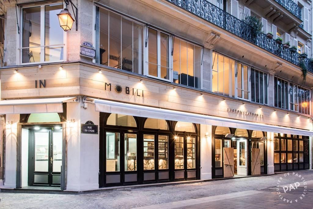 Vente et location Fonds de commerce Paris 1Er (75001)  680.000€