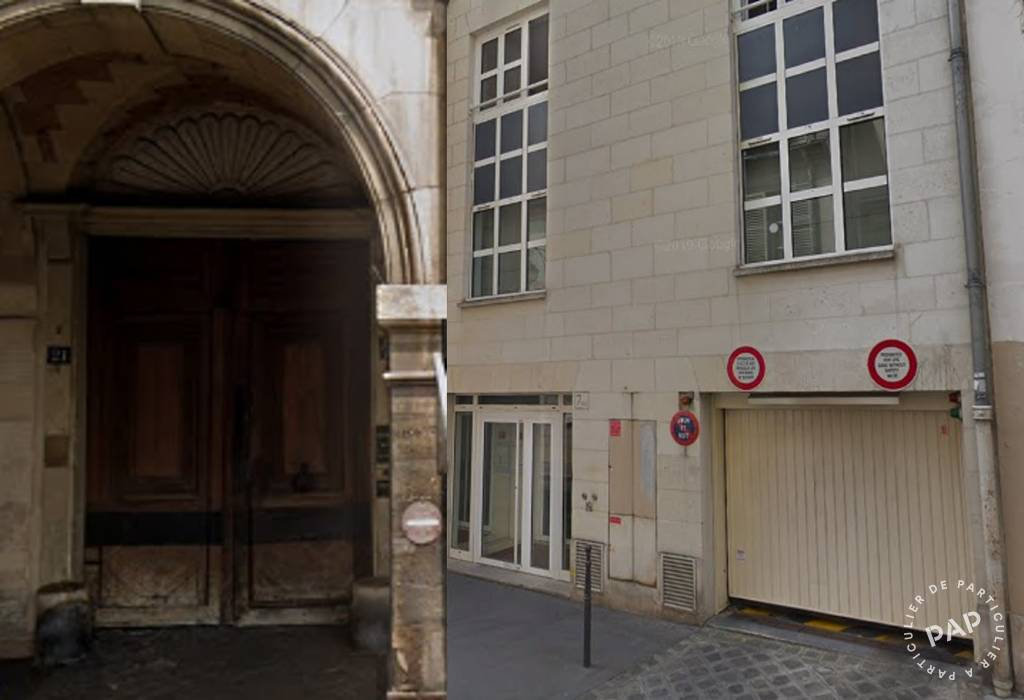 Vente Garage, parking Paris 3E (75003)  62.000 €