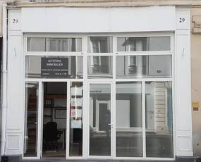 Local commercial Paris 3E (75003) - 40 m² - 1.800 €