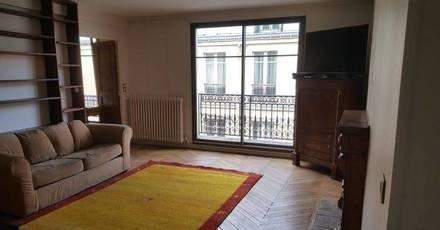 Location meublée appartement 3pièces 70m² Paris 9E - 2.175€