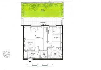 Location appartement 2pièces 44m² Noisy-Le-Grand (93160) - 888€
