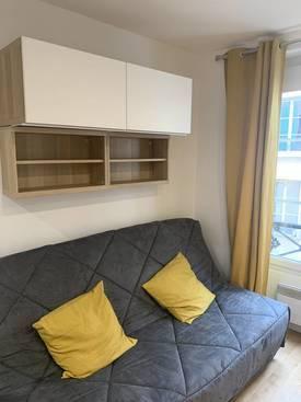 Location meublée studio 19m² Paris 11E (75011) - 950€