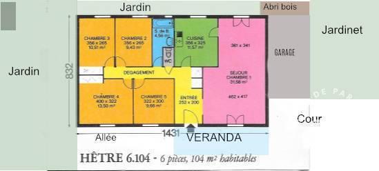 Maison La Perche 95.000€