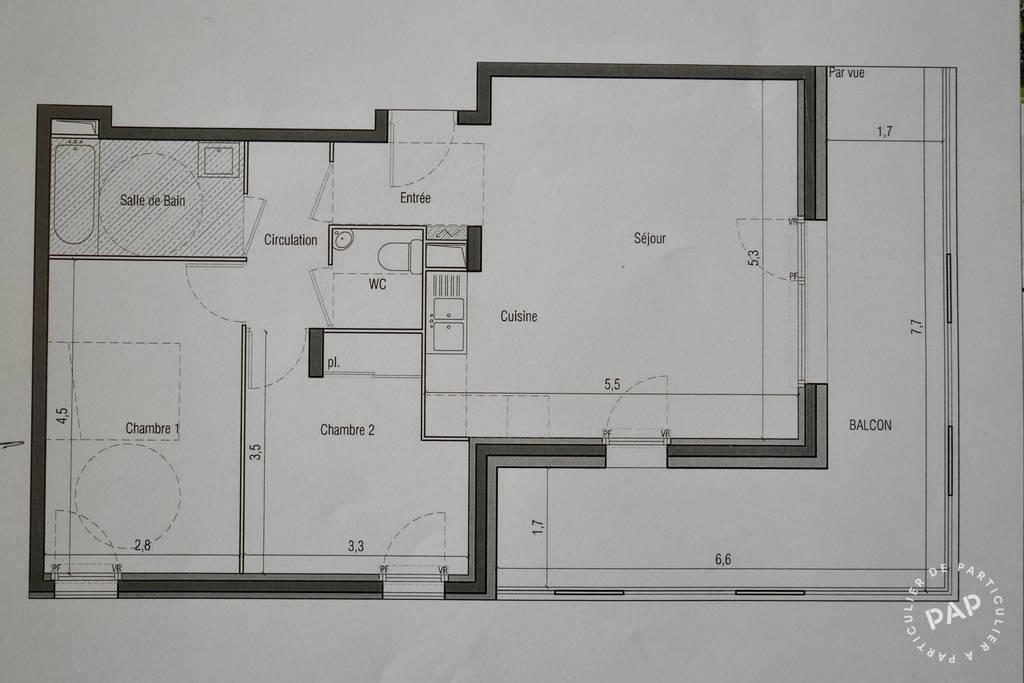 Vente Les Ulis (91940) 62m²