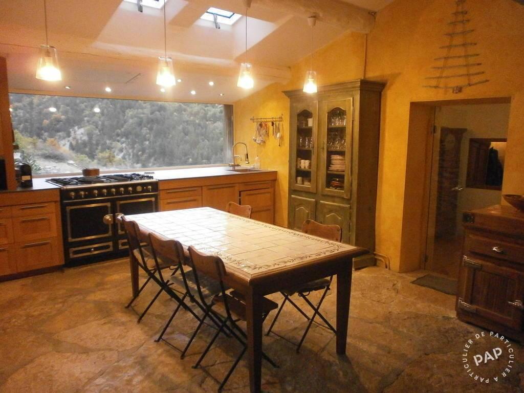Baie Vitrée Voutée maison en pierre en provence - alpes-de-haute-provence (04