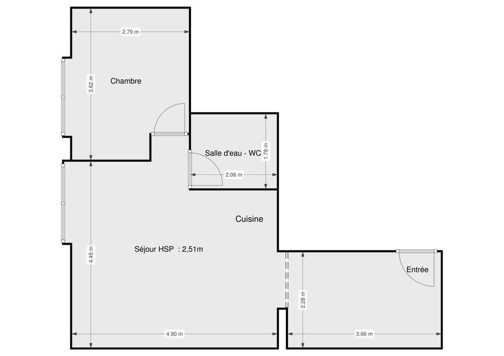 Appartement 36m²