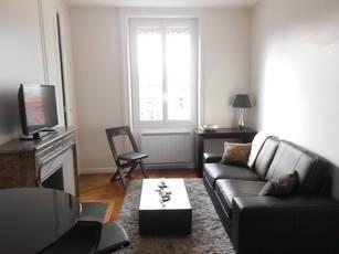 Location meublée appartement 2pièces 31m² Lyon 6E (69006) - 854€
