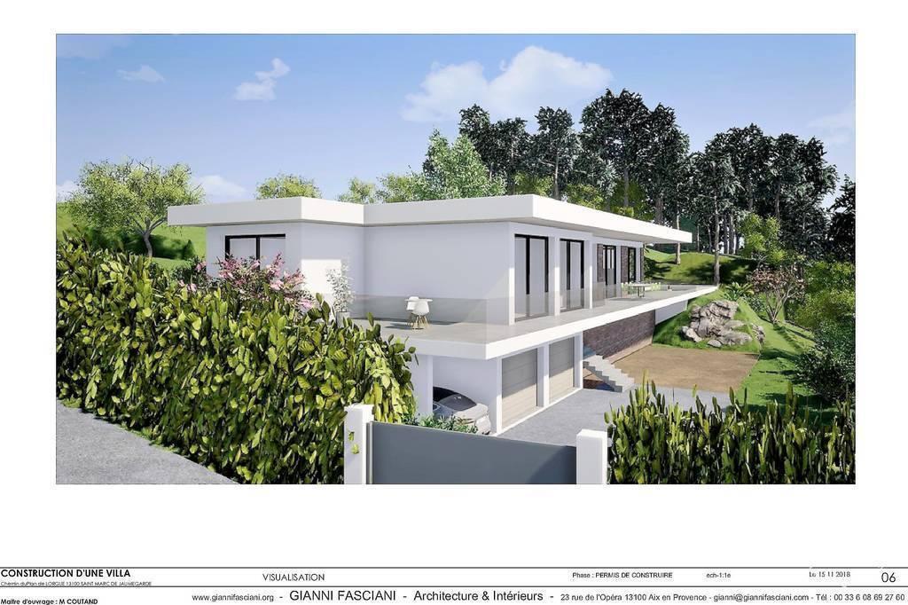 Vente Terrain Aix-En-Provence/ St Marc Jaumegarde  610.000€