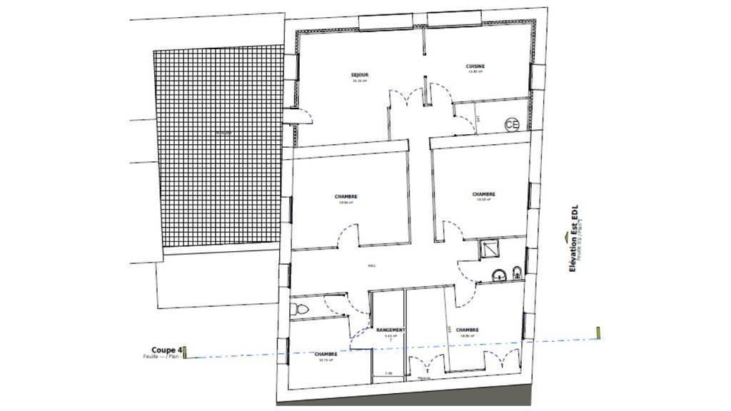 Vente Appartement Saint-Jean-De-Bournay (38440) 153m² 192.000€