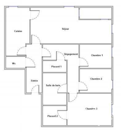 Vente appartement 5 pièces Chalon-sur-Saône (71100)