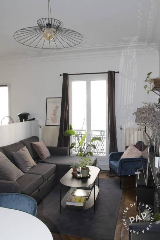 Vente Appartement Paris 18E (75018) 58m² 650.000€