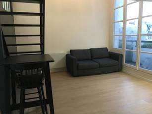 Location meublée studio 30m² Paris 16E (75116) - 1.375€